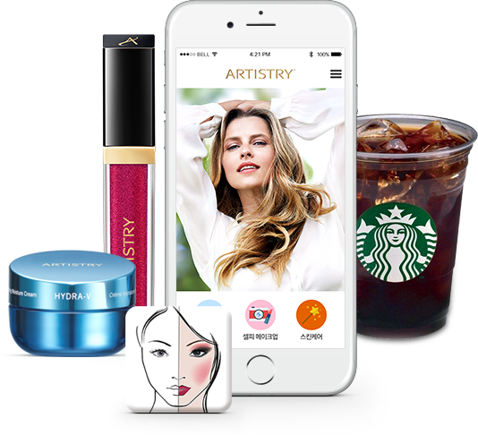 아티스트리 뷰티 앱 스마트폰, 이벤트 상품 이미지