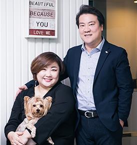 조정범 & 김용미 사진