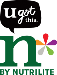 u got this. n by nutrilite (로고)