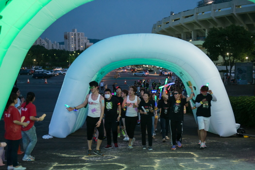 XS 5K Night Run 코스 - Phyto h...