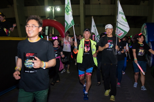 XS 5K Night Run 코스 - XS 존