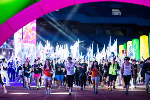 XS 5K Night Run 출발