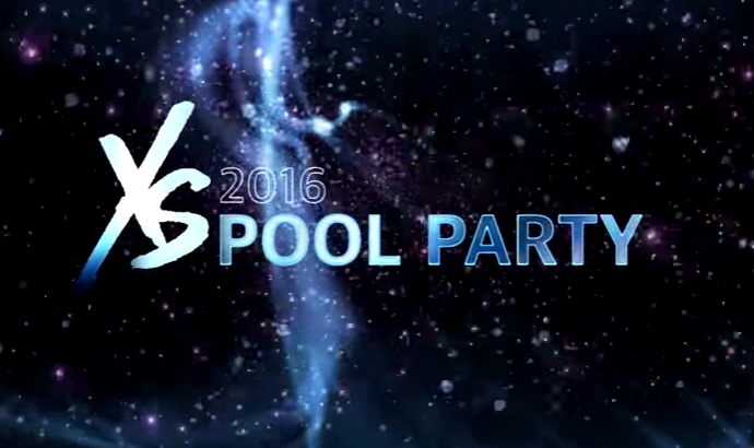 2016 XS poolside party